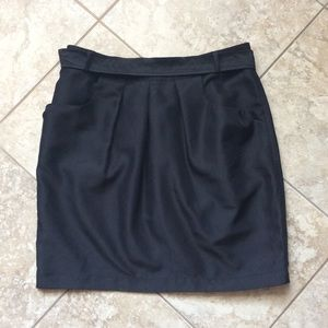 GAP womens size 4 black skirt with pockets